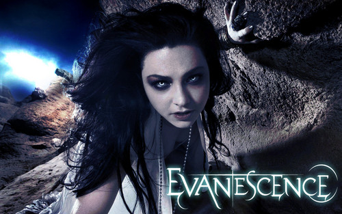 Evanescence achtergrond containing a portrait titled Evanescence