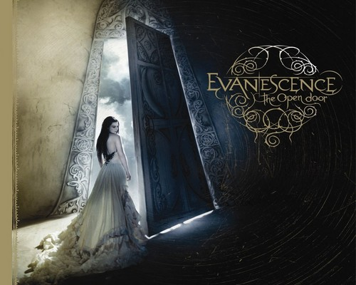 Evanescence wallpaper containing a sign titled Evanescence - The Open Door