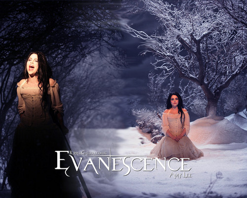 Evanescence wallpaper with a dinner dress, a gown, and a bridesmaid entitled Evanescence's Amy Lee