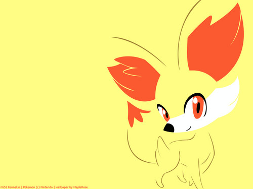 Fennekin Wallpaper - fennekin Wallpaper