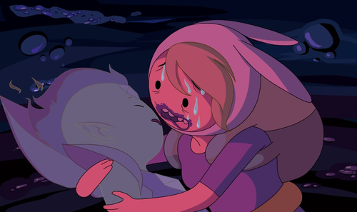 Adventure Time fond d'écran probably containing animé entitled Fionna & Cake - Burning Low