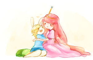 Fionna & Princess Bubblegum