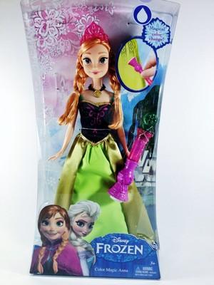 ফ্রোজেন Color Changing Coronation Anna Doll দ্বারা Mattel