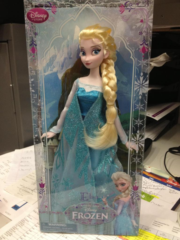 Frozen Disney Store Elsa Doll