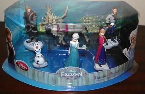 Princess Anna kertas dinding called Frozen Disney Store Figure Playset