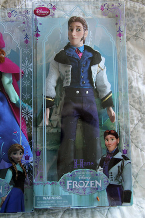 Frozen Disney Store dolls