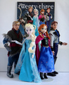 Frozen - Uma Aventura Congelante bonecas