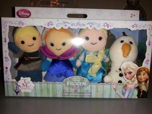アナと雪の女王 Finger Puppet Set