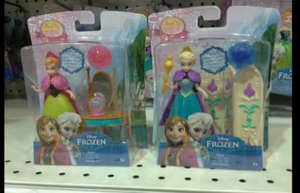 Frozen mini dolls