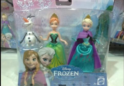 Frozen Mini Dolls