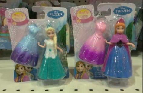 La Reine des Neiges mini poupées