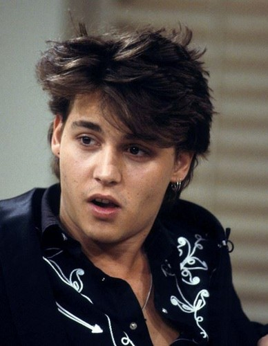 Johnny Depp fond d'écran titled Funny young Johnny ♥