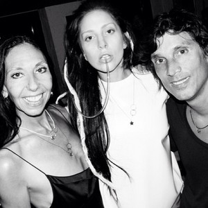 Gaga and Inez and Vinoodh at V Magazine Party in NYC (Sept. 7)