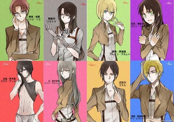 Gender-Bender Characters