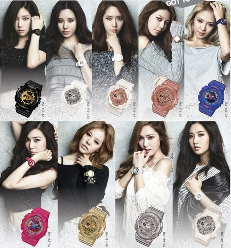 Girl's Generation/SNSD karatasi la kupamba ukuta probably containing a bridesmaid and a portrait titled Girls Generation Real Baby-G