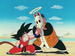 Goku VS Grandpa Gohan
