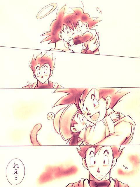 Goten and Goku Remind Gohan of...Him and Goku