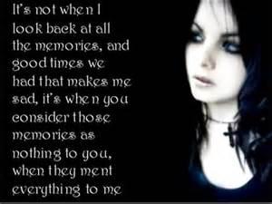 Goth Quote!!!<3