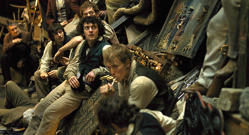 Les Miserables wolpeyper called Grantaire