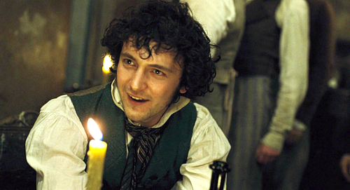 Les Miserables wolpeyper containing a candle called Grantaire