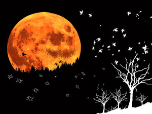 Halloween/Autumn Moon