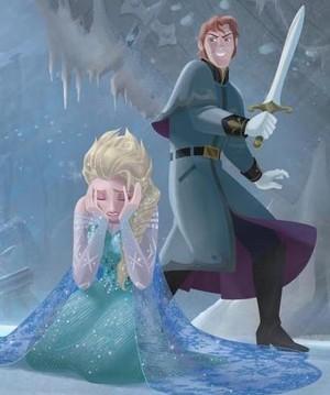 Hans/Elsa :'( Bad Hans