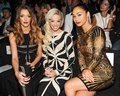 Herve Leger By Max Azria - Front Row - Mercedes-Benz Fashion Week Spring 2014