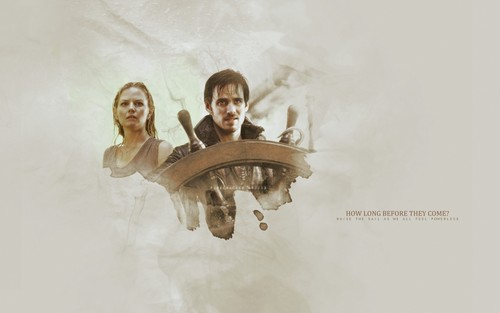 the Captain Hoo... Once Upon A Time Wallpaper Captain Swan