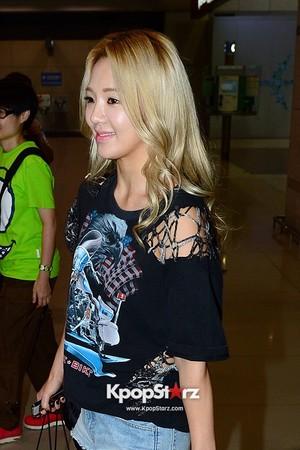 Hyoyeon Airport 130920