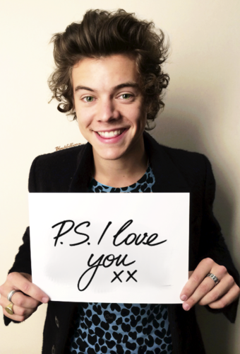 Harry Styles fond d'écran containing a business suit called I♥U
