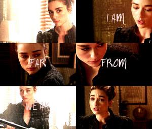 I am far from weak.