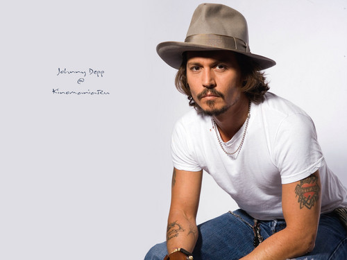 Johnny Depp wallpaper with a fedora, a boater, and a porkpie titled JD wallpapers ♥