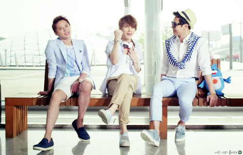 JYJ wallpaper probably containing a well dressed person called JYJ - 'Only One' M/V