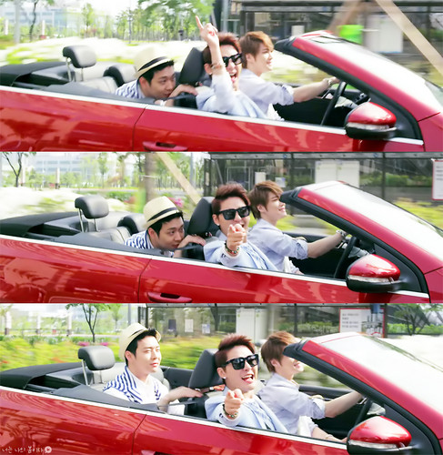 JYJ wallpaper probably with a conservatory titled JYJ - 'Only One' M/V