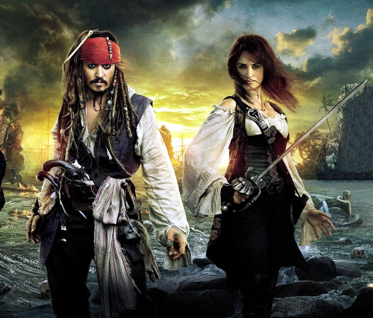 Captain Jack Sparrow And Angelica Images Jack Angelica Hd