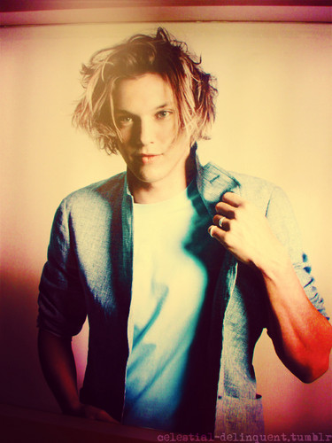 Jamie Campbell Bower Hintergrund probably with an outerwear and a portrait titled Jamie ♥