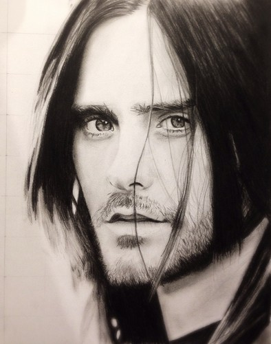 30 secondes to Mars fond d'écran possibly containing a portrait entitled Jared Leto Drawing