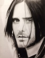 Jared Leto Drawing - 30-seconds-to-mars fan art
