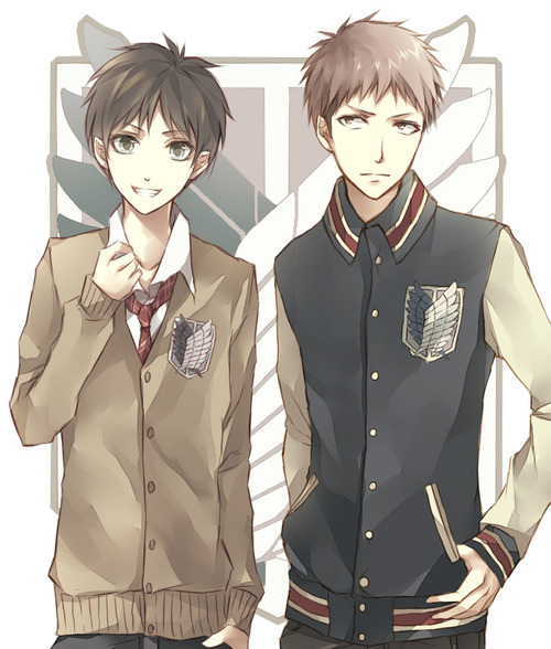 Attack on titan jean and eren