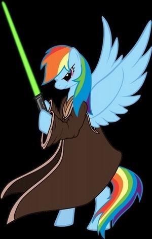 Jedi arco iris Dash