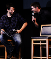 Jensen and Misha - jensen-ackles-and-misha-collins photo