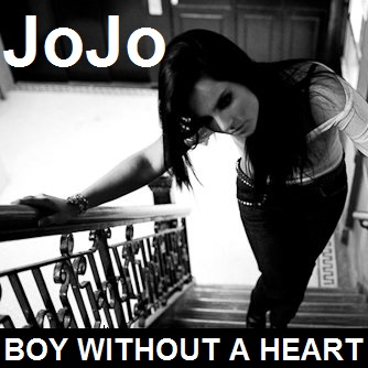 JoJo Levesque wallpaper possibly containing a sign entitled JoJo - Boy Without A Heart