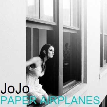 JoJo Levesque wallpaper probably containing a living room, a window seat, and a sign titled JoJo - Paper Airplanes