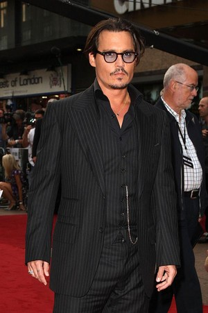 Johnny Depp (For dear Chloe )