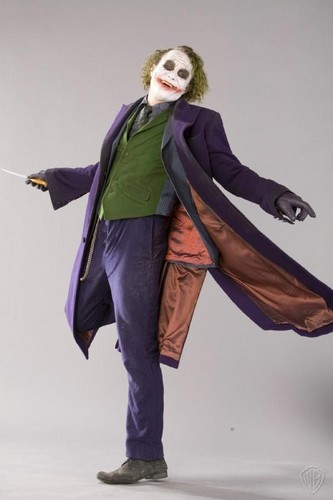 The Joker kertas dinding probably with a cloak, an overgarment, and an opera jubah, berjubah titled Joker - promo shoot for The Dark Knight