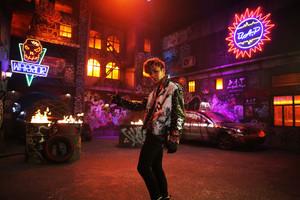 """Jongup's & Zelo's """"Warrior"""" teaser foto's"""