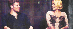 Joseph morgan & Claire Holt | 2013 Summer TCA Tour