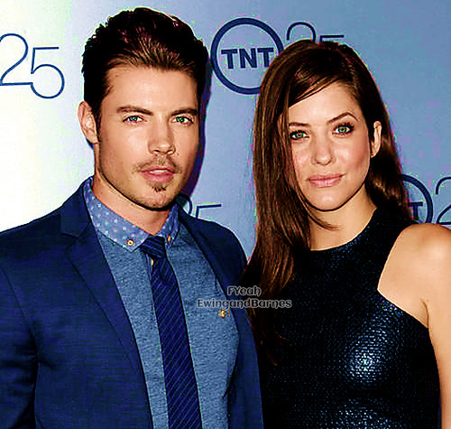 Josh Henderson wallpaper called Josh Henderson and Julie Gonzalo at TNT's 25th Anniversary