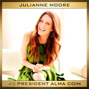 Julianne Moore cast as Alma Coin