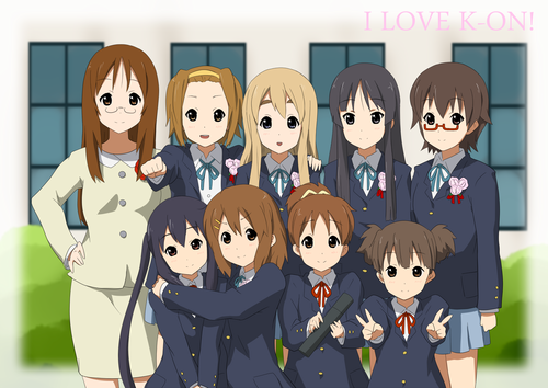 K-ON! 壁纸 entitled K-on! pics! (fan-art)